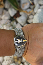Load image into Gallery viewer, Chain Mail Bracelet