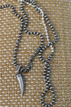 Load image into Gallery viewer, Elephant Tooth With Beads Chain Necklace