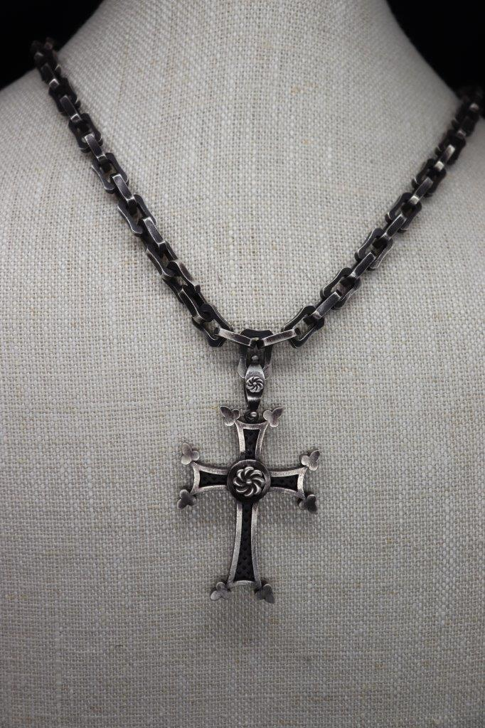 Armenian Cross And Chain Necklace