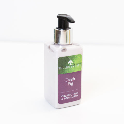 Hand and Body Lotion - Fresh Fig - Organic