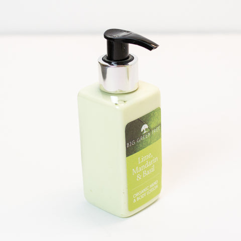 Hand and Body Lotion - Lime, Mandarin & Basil - Organic