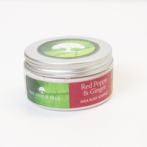 Shea Body Soufflé - Red Poppy & Ginger