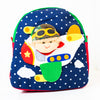 Children's Backpack - Boy in a Plane
