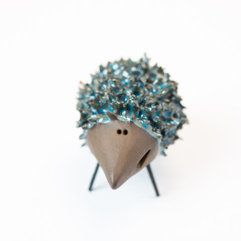 Ceramic Hedgehog - Blue