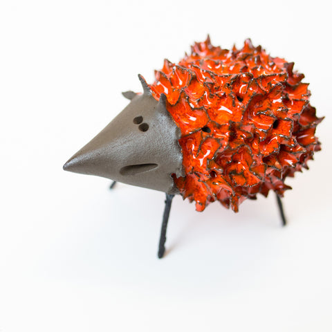 Ceramic Hedgehog - Red