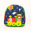 Children's Backpack - Bear Driving a Train