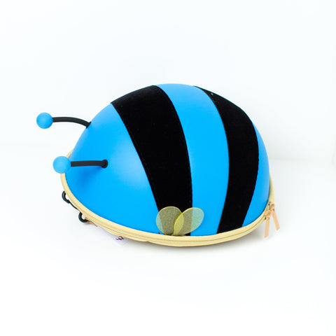 Mini Backpack - Bumble Bee - Blue - Love Roobarb