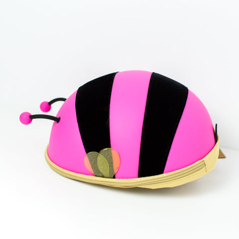 Children's Backpack - Bumble Bee - Pink