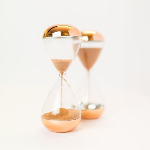 Sand Timer - 3 minute - Copper