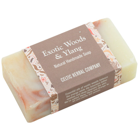 Soap - Exotic Woods and Ylang - 100% Natural