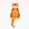 Clock - Ginger Cat