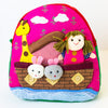 Children's Backpack - Girl in an Ark