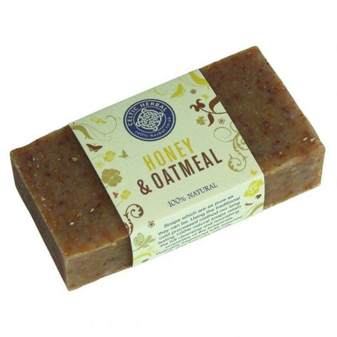 Soap - Honey and Oatmeal - 100% Natural