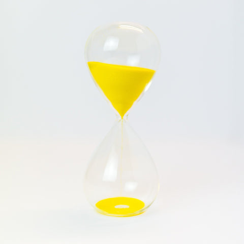 Sand Timer - 30 minute - Lemon