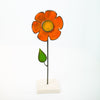 Ceramic Flower - Orange