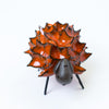 Ceramic Spikey Sheep - Orange