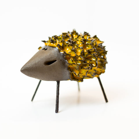 Ceramic Hedgehog - Yellow