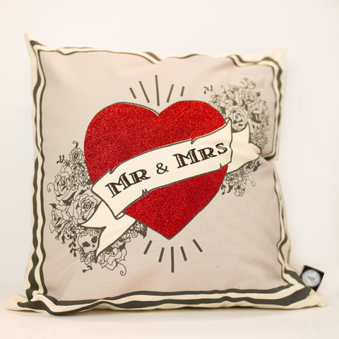 Cushion - Mr & Mrs