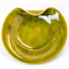 Olive Coloured Ceramic Plate