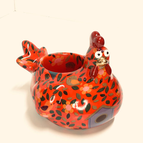 Pomme Pidou Bloomies - Red Chicken Planter