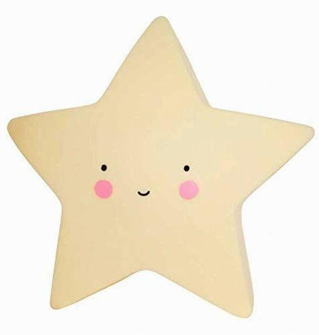 Star Shaped Night Light - Love Roobarb