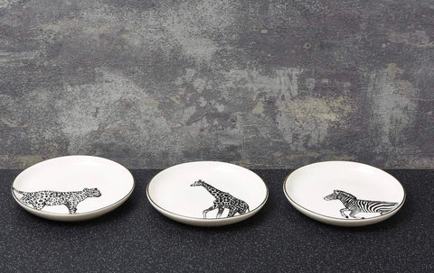Animal Trinket Dishes - Set of Three