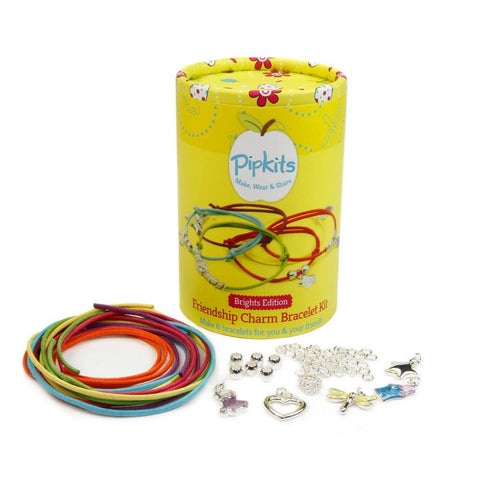 Bracelet Kit - Friendship Charm Jewellery Making Kit (Brights Edition)
