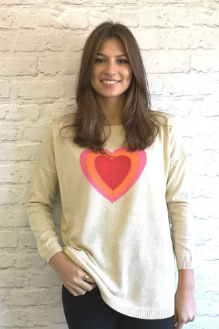 Top - Love Heart - Luella Cotton Collection
