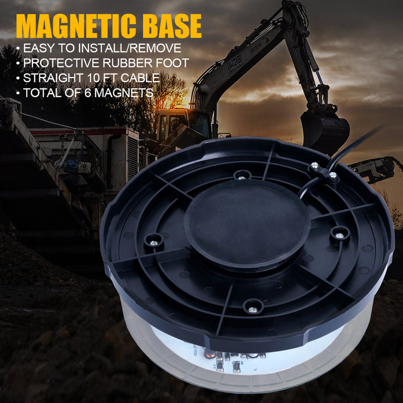 Xprite Moon Beam Series 24 LED High Intensity Strobe and Rotating Beacon Light