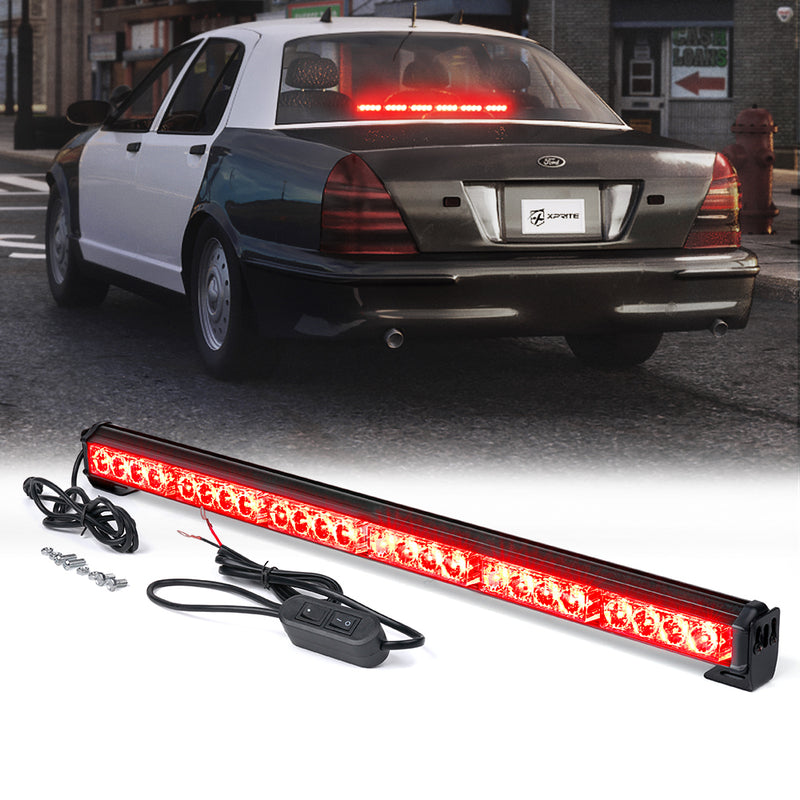 "Xprite 27"" Traffic Advisor LED Strobe Light Bar"