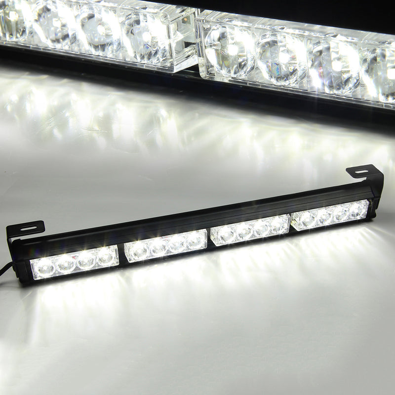 "Xprite 18"" 16 LED Traffic Advisor Strobe Light Bar Kit"
