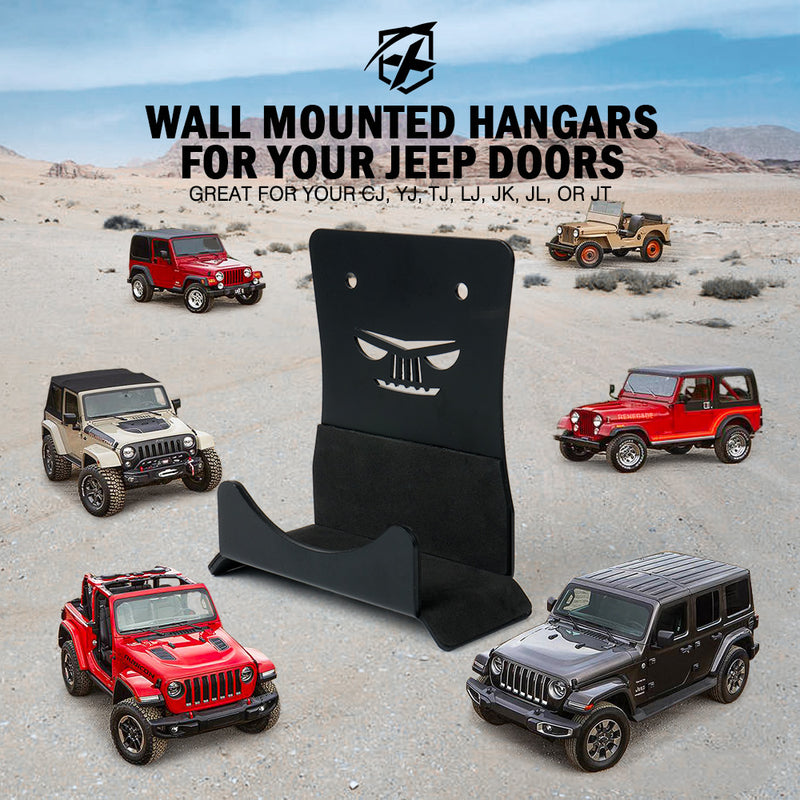 Xprite Wall Mount Storage Hanger for 1956-2020 Jeep Wrangler CJ YJ TJ LJ JK JL JT