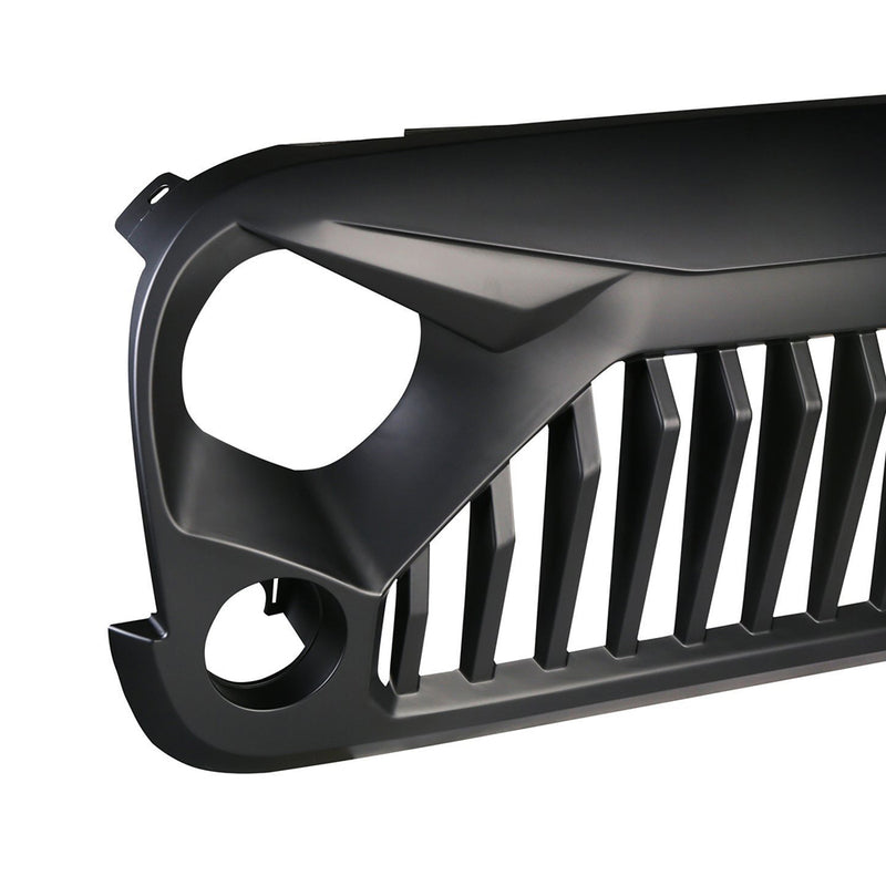 Xprite Gladiator Black Grille for 2007-2018 Jeep Wrangler