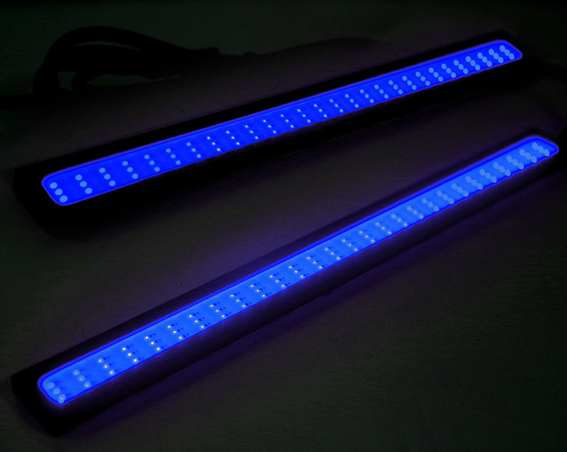 Xprite One pair (2 PCS) 17CM Blue COB Fog Light DRL LED Light