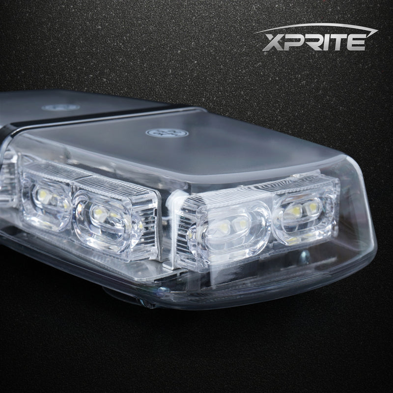 Xprite Gamma Series 18W LED Rooftop Strobe Light with Magnetic Base