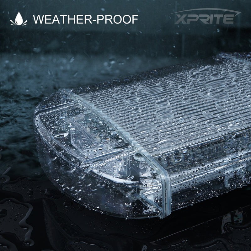 Xprite Radiant Series 40 LED Emergency LED Strobe Light with Magnetic Base