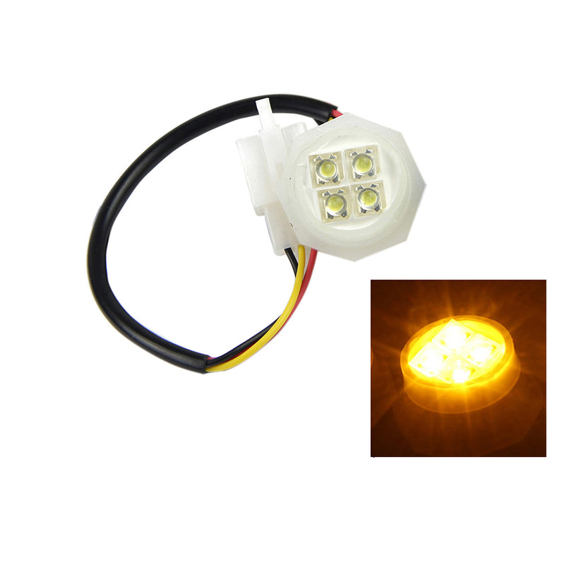 Xprite Amber LED Hide-A-Way Strobe Tube for 80w / 120w / 160w Kits Replacement Bulb