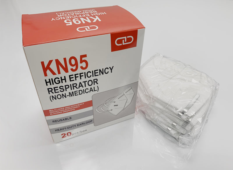 Medical Supplier KN95 FDA Approved GB2626-2006 Class 1 Mask - 1 Pack ( 20 Pcs ) - Stock In USA