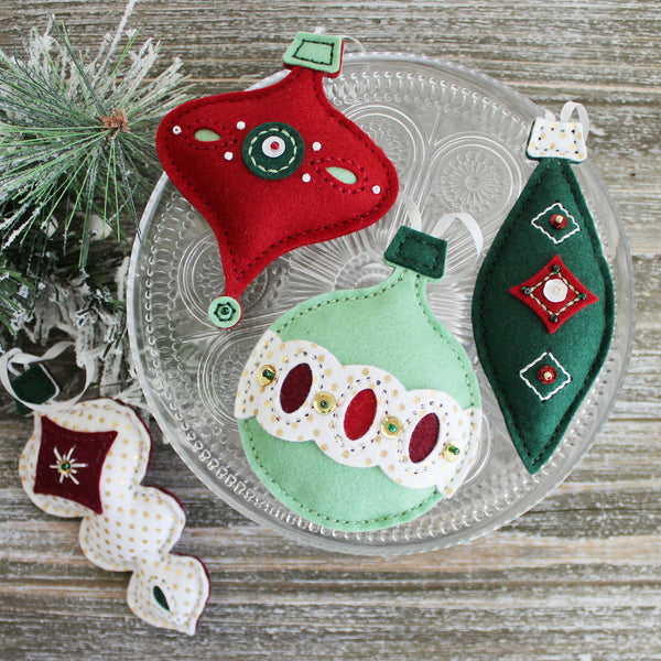 More Homespun Holiday: Keepsake Ornaments Kit Inspiration