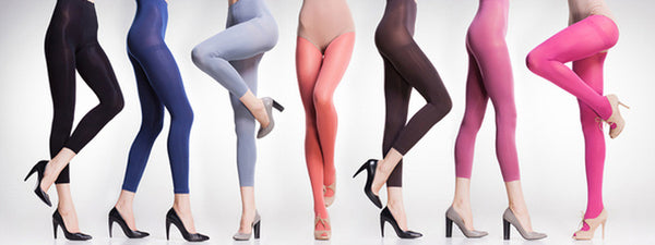 How to Rock Brightly-Colored Tights
