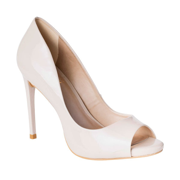 Amanda - Nude Patent Leather - UKIES