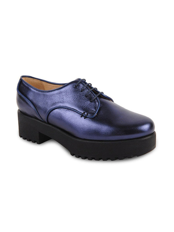 Andrea - Midnight Blue Metallic Nappa - UKIES