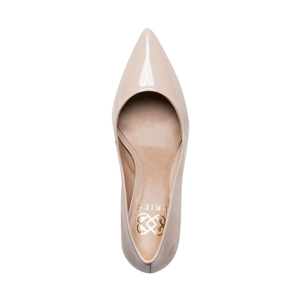Anya - Nude Patent Leather - UKIES