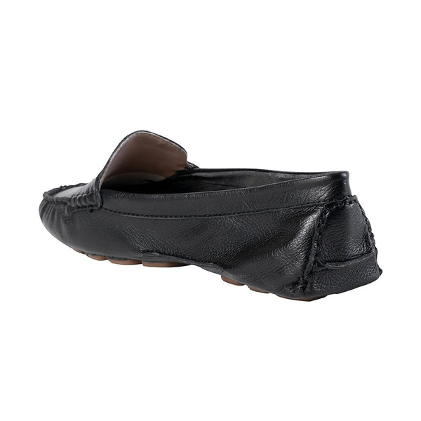 Moccasins - Soft Black Tumbled Leather