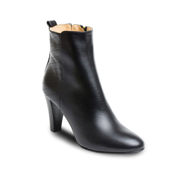 Booties - Monica - Black Nappa