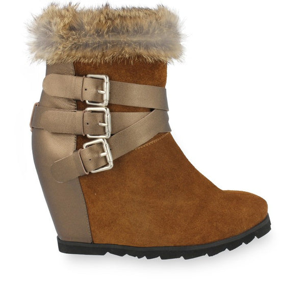 Boots - Carrie - Brown Suede