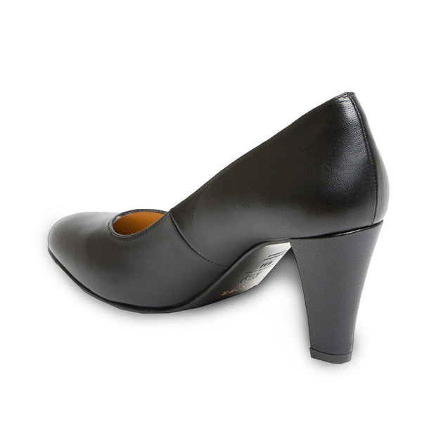 Pumps - Marine - Black Nappa
