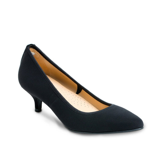 Pumps - Phyllis - Black Fabric