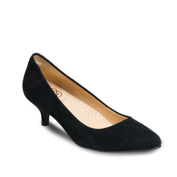 Pumps - Phyllis - Black Suede