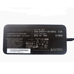New Original MSI GE75 Raider 8SG-096CA ADP-280BB B Delta 280W 20V AC/DC Adapter@
